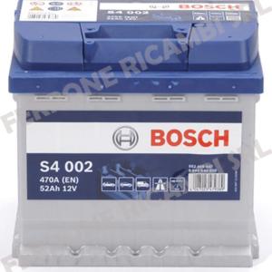Batteria Auto 52Ah Bosch S4002